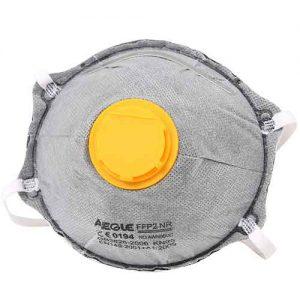 60403226 碗形活性炭带阀口罩