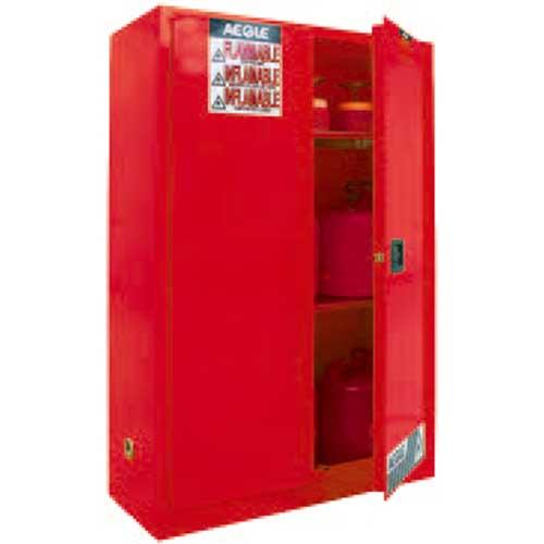 红色安全柜