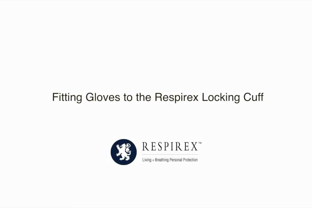 Respirex 防护服手套更换方法