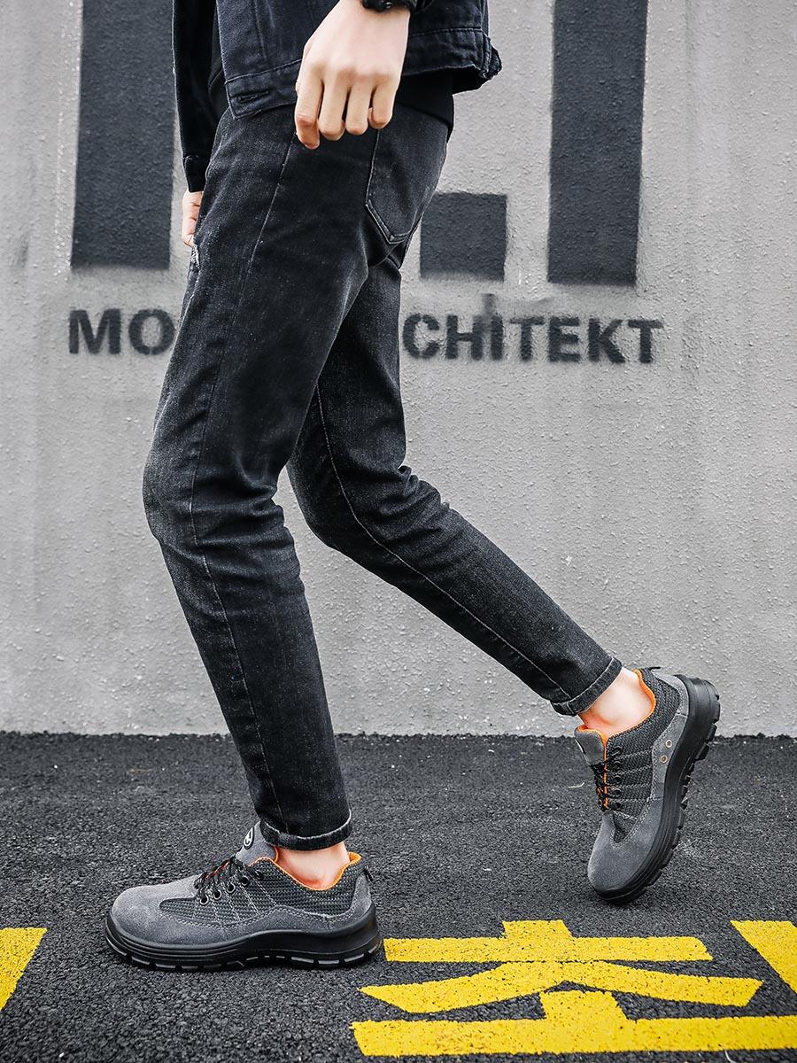 60725106舒适透气款安全鞋