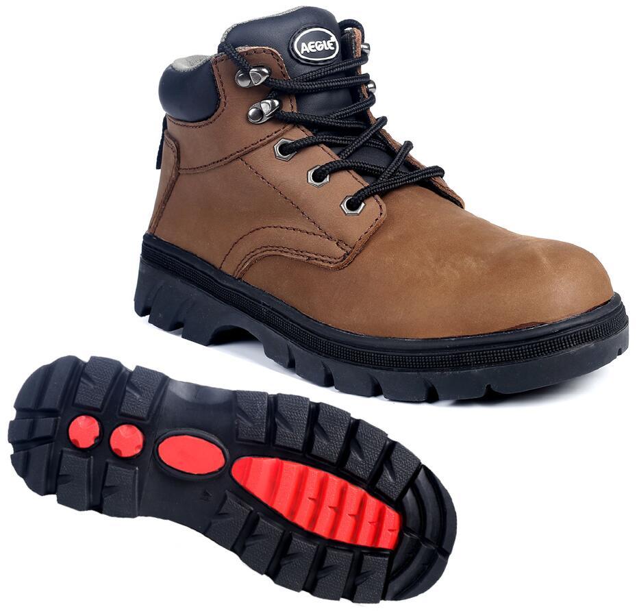 60725880户外登山款中帮安全鞋